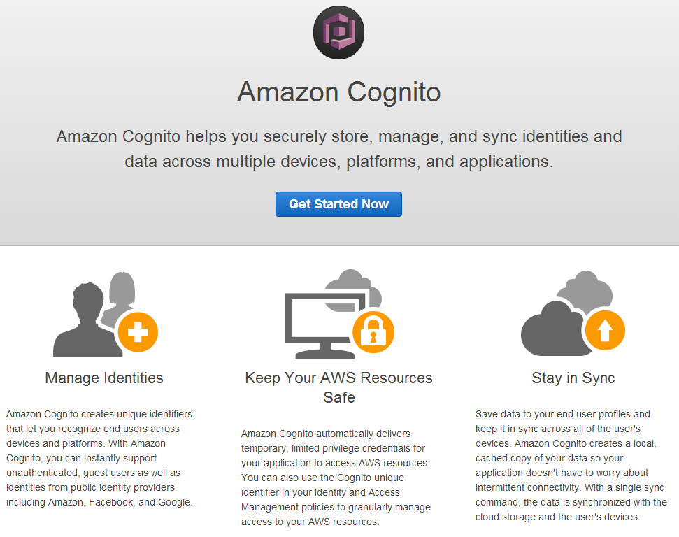 AWS Cognito with PhoneGap/Cordova and the Browser Javascript SDK